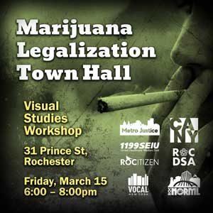 Marijuana Legalization Town Hall March 15th