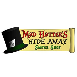 Mad Hatter's Hide Away Logo