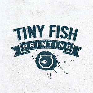 Tiny Fish Printing Logo