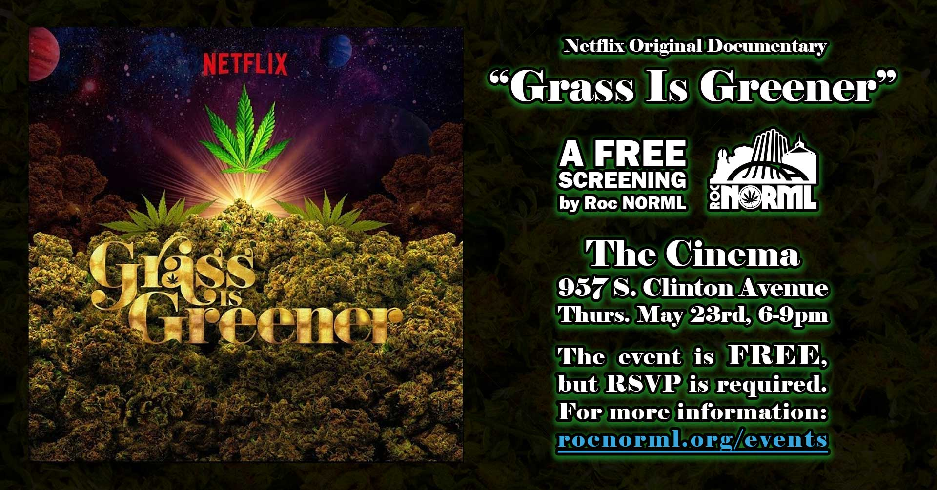 "Screening of Netflix Original ""Grass Is Greener"""
