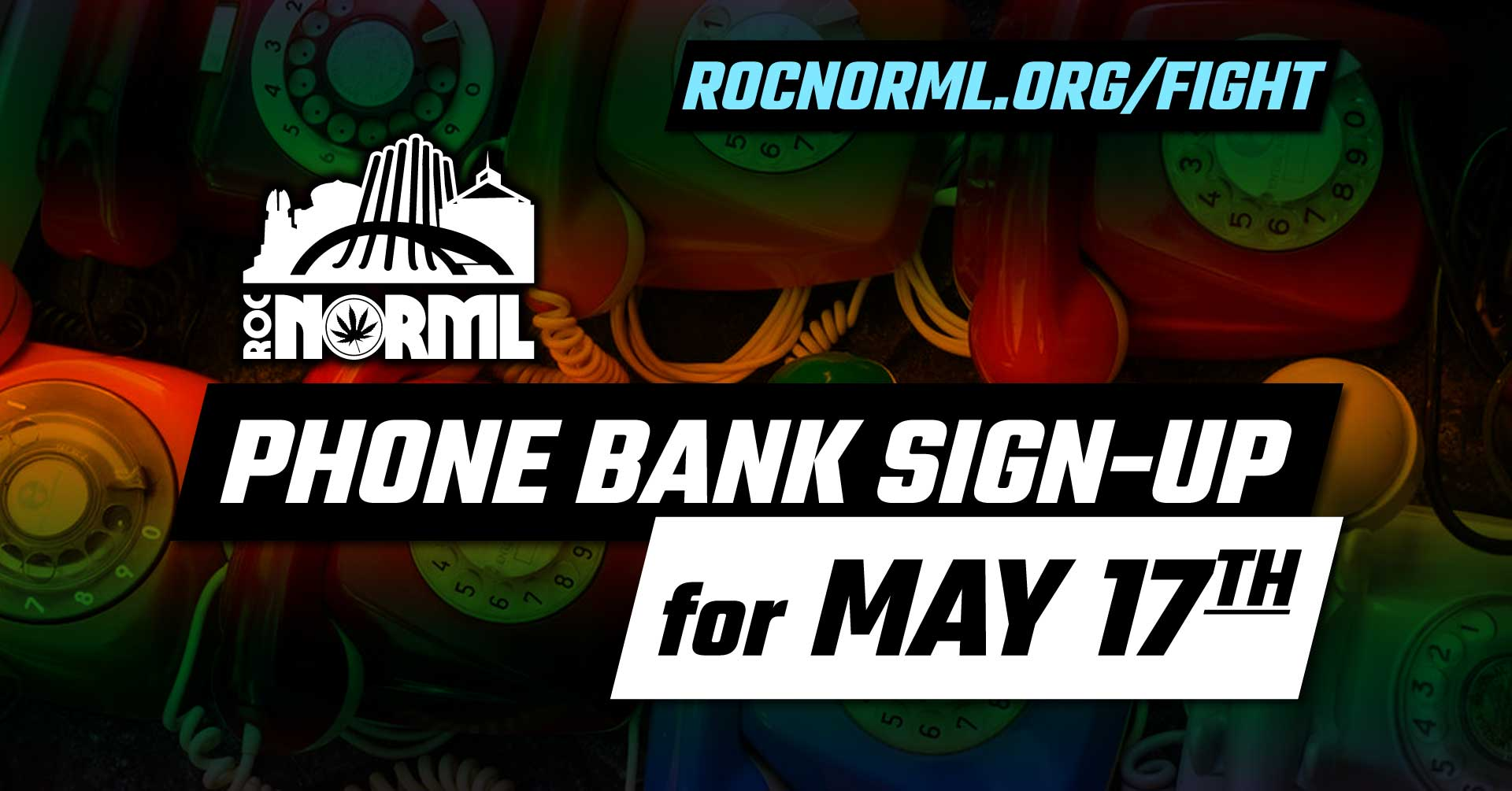 May 17th Phone Banking Sign Up