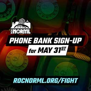 May 31st Phone Banking Sign Up