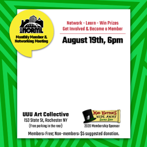 August Monthly Membership and Networking Meeting