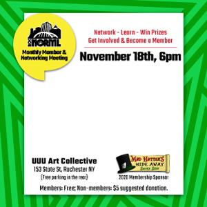 November Monthly Membership and Networking Meeting