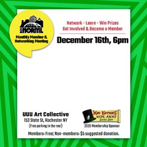 December Monthly Membership and Networking Meeting